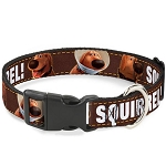 Disney Designer Breakaway Pet Collar - Pixar UP - Dug - SQUIRREL!