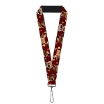 Disney Designer Lanyard - Pixar UP - Dug Poses w/ Balloons