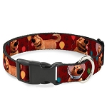 Disney Designer Breakaway Pet Collar - Pixar UP - Dug Poses w/ Balloons