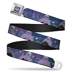 Disney Designer Seatbelt Belt - Little Mermaid Villain - Ursula
