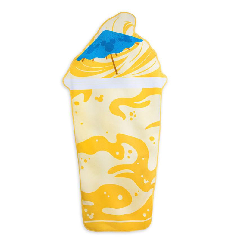 Disney Beach Towel - Dole Whip Float - Pineapple Swirl