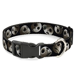 Disney Designer Breakaway Pet Collar - NBC - Jack Skellington Expressions - Staggered