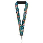 Disney Designer Lanyard - Lilo Stitch & Scrump - Movie Scenes