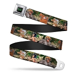Disney Designer Seatbelt Belt - Jungle Book - I Wanna Be Like You