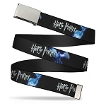 Designer Web Belt - Harry Potter Logo w/ Patronus Animals