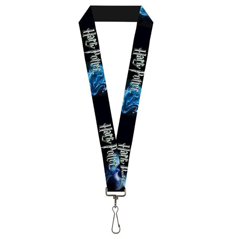 Designer Lanyard - Harry Potter Logo w/ Patronus Animals