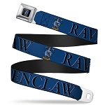 Designer Seatbelt Belt - Ravenclaw Crest - Harry Potter