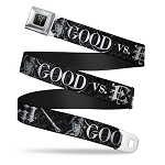 Designer Seatbelt Belt - Harry Potter - Good vs Evil