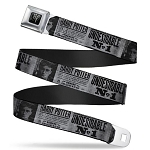Designer Seatbelt Belt - Harry Potter - Undesirable No 1