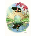 Disney Postcard - Sydney Hansen - Reflection
