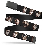 Designer Web Belt - Harry Potter Characters - Close-Up Faces