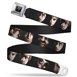 Designer Seatbelt Belt - Harry Potter Characters - Close-Up Faces
