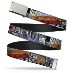 Designer Web Belt - Harry Potter Scenes - Full Color