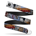 Designer Seatbelt Belt - Harry Potter Scenes - Full Color