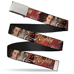 Designer Web Belt - Hermione - Highly Logical - Full Color