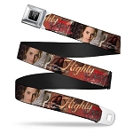 Designer Seatbelt Belt - Hermione - Highly Logical - Full Color