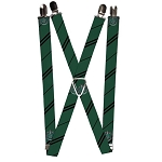 Designer Suspenders - Slytherin Crest - Harry Potter