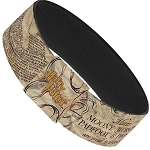Designer Elastic Bracelet - The Marauder's Map - Harry Potter