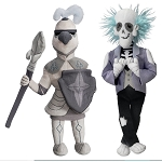 Disney Plush - Haunted Mansion - Master Gracey and Knight - Limited Release