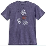 Disney Shirt - Mickey Mouse Classic - Walt Disney World - Purple