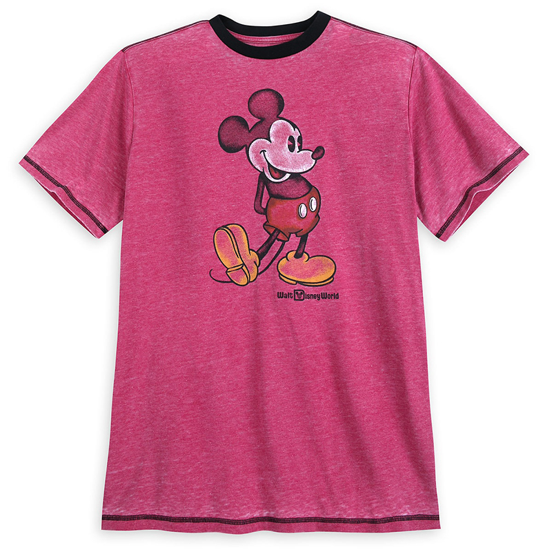 Disney Shirt - Mickey Mouse Classic - Walt Disney World - Red