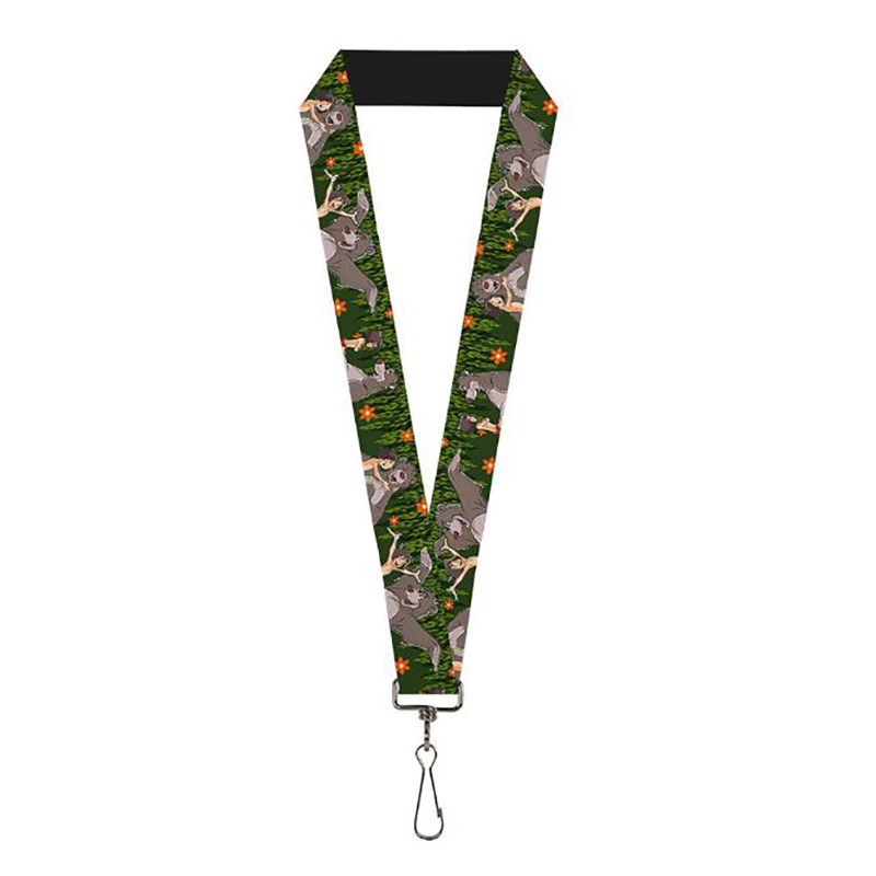 Disney Designer Lanyard - Mowgli & Baloo Best Friends - Jungle Book