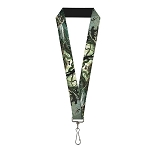 Disney Designer Lanyard - Mowgli & Shere Khan Movie Scenes - Live Action / CGI Remake