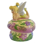 Disney Cookie Jar - Tinker Bell On Flower