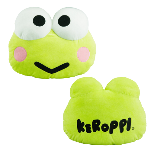 Universal Plush Pillow - Hello Kitty and Friends - Keroppi