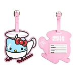 Universal Bag Tag - Hello Kitty Helicopter