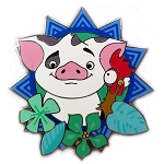 Disney Moana Pin - Pua and Hei Hei
