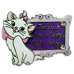 Disney Marie Pin - Aristocats Marie -