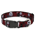 Disney Designer Breakaway Pet Collar - NBC - Jack Skellington - Spooky Eyes