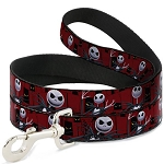 Disney Designer Pet Leash - NBC - Jack Skellington - Spooky Eyes