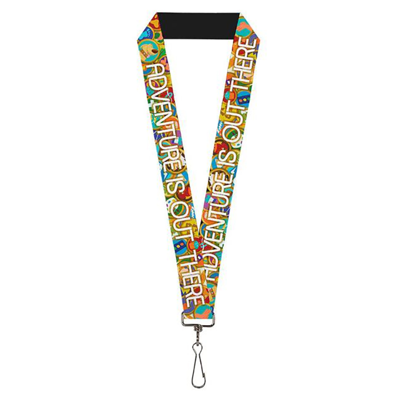 Disney Designer Lanyard - Adventure Is Out There - Wilderness Explorer Badges