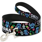 Disney Designer Pet Leash - Ohana Means Family - Stitch & Scrump