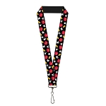 Disney Designer Lanyard - Mickey Mouse Clothing Icons