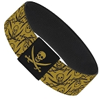 Disney Designer Elastic Bracelet - Pirates of the Caribbean - Skulls & Swords