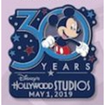 Disney Pin - Hollywood Studios 30 Years - Blue Logo