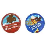 Disney Button Set - Parks Food
