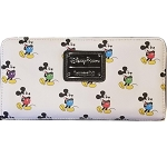 Disney Loungefly Wallet - Multi Color Mickey