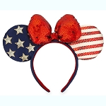 Disney Minnie Headband Ears - Americana