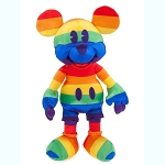 Disney Plush - Mickey Mouse Rainbow Collection - 15 1/2''