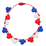 Disney Light-Up Necklace - Mickey Mouse Americana