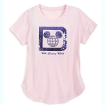 Disney Women's Shirt - Walt Disney World Reversible Sequin T-Shirt