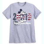 Disney Shirt - Mickey Mouse Americana - 2019 Logo