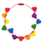 Disney Light-Up Necklace - Rainbow Collection - Mickey Mouse