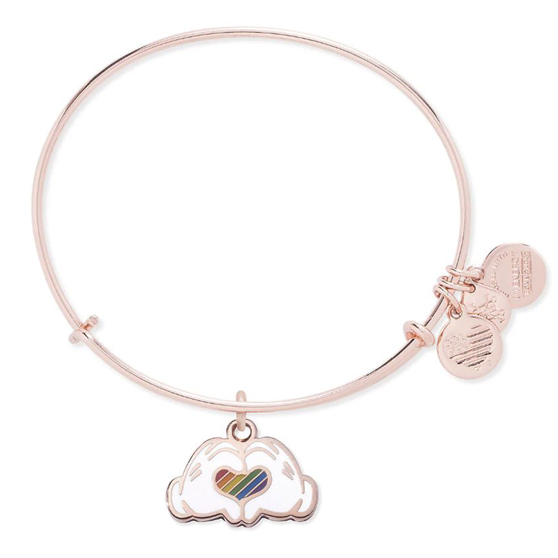 6f4be1d1b Add to My Lists. Disney Alex and Ani Bracelet - Rainbow Collection - Mickey  Mouse Heart
