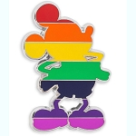 Disney Pin - Rainbow Collection - Mickey Silhouette