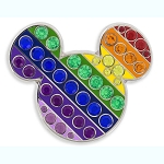 Disney Pin - Rainbow Collection - Mickey Icon